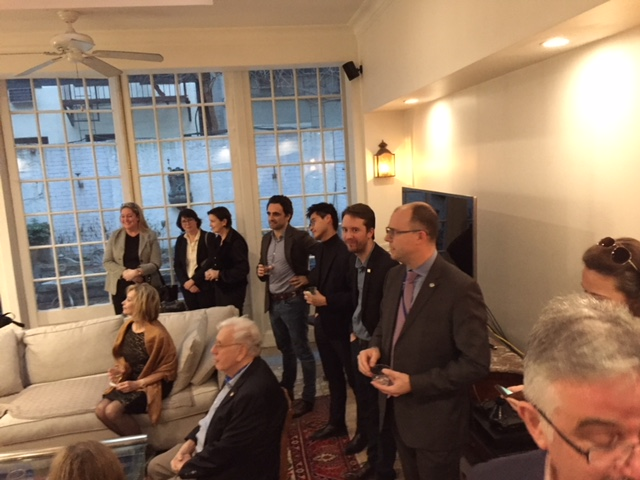 New Member Reception March 28, 2018