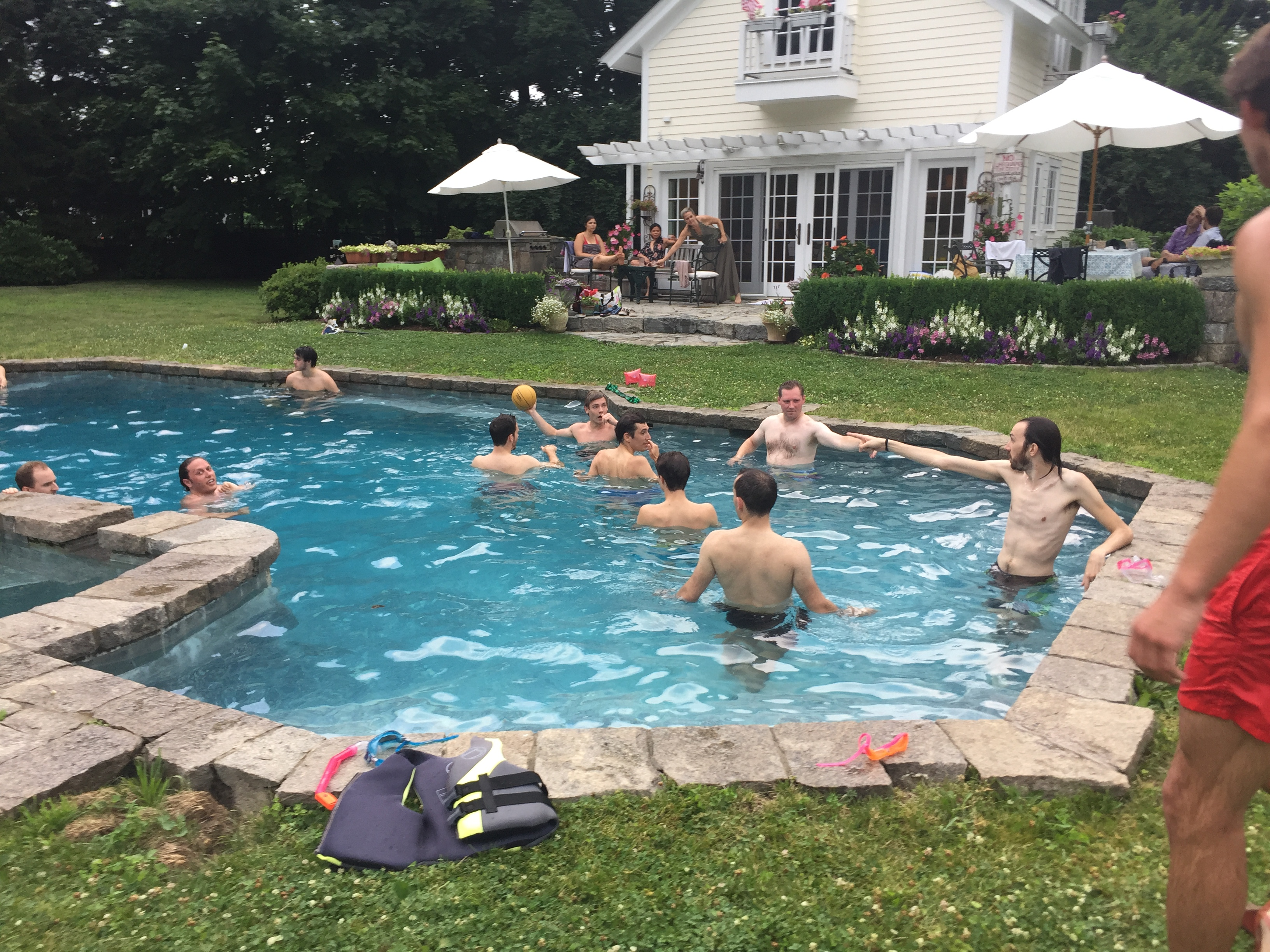 July 4th Barbecue & Pool Party