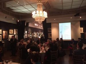 December 8, 2016 - Dinner with Adam Gopnik